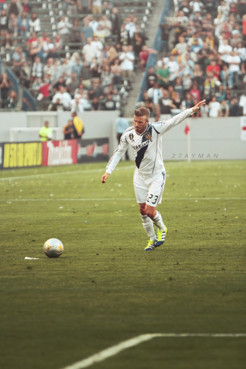 27ayman:  David Beckham [ 1993 - 2013 ] HQ
