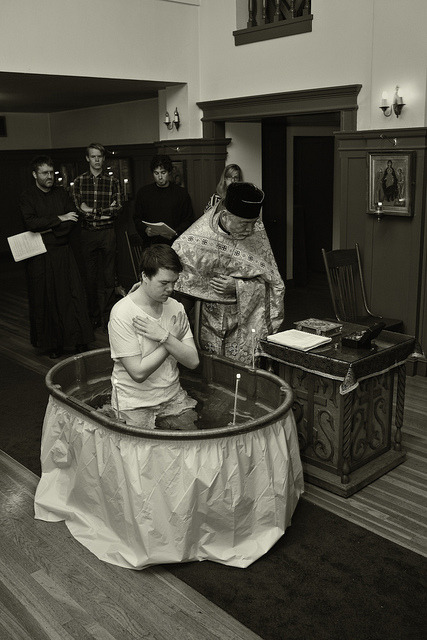 Russian Orthodox Baptism on Flickr.