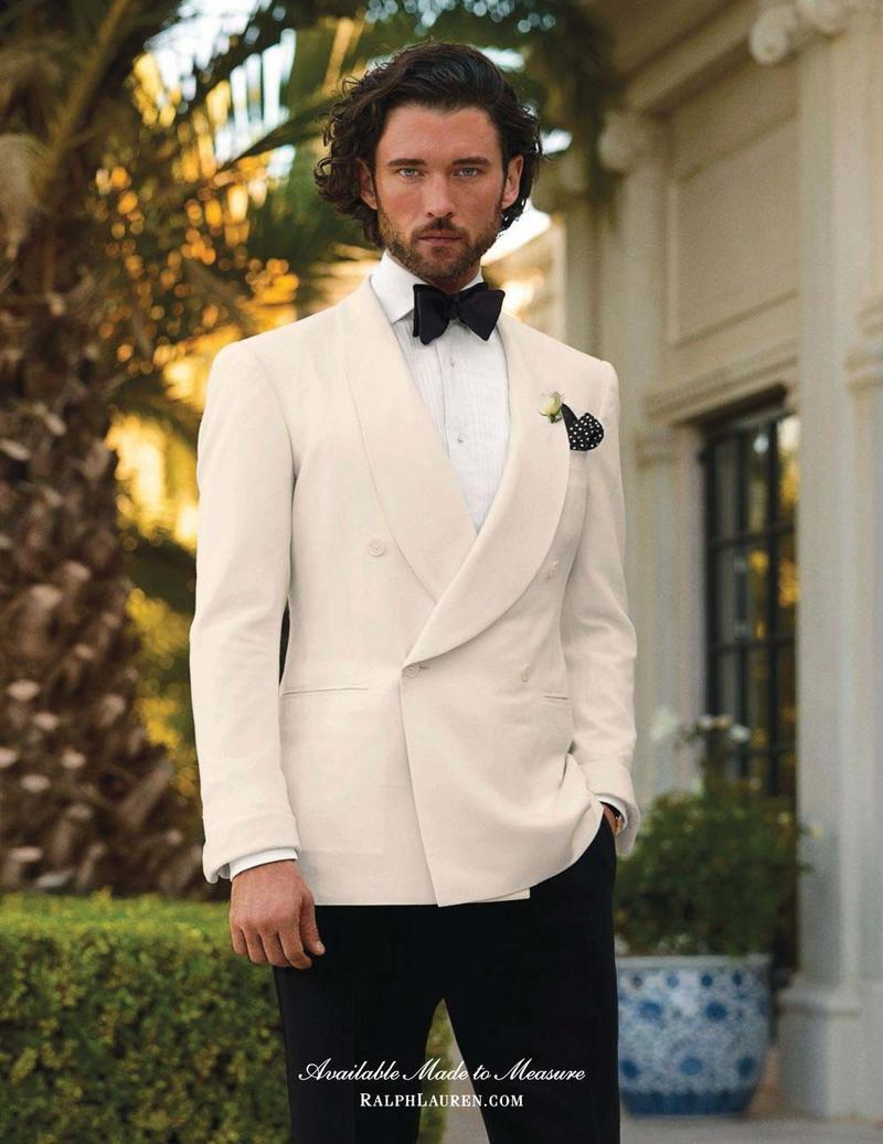 thesnobreport:  Tux Tropical - Ralph Lauren Purple Label SS 2013