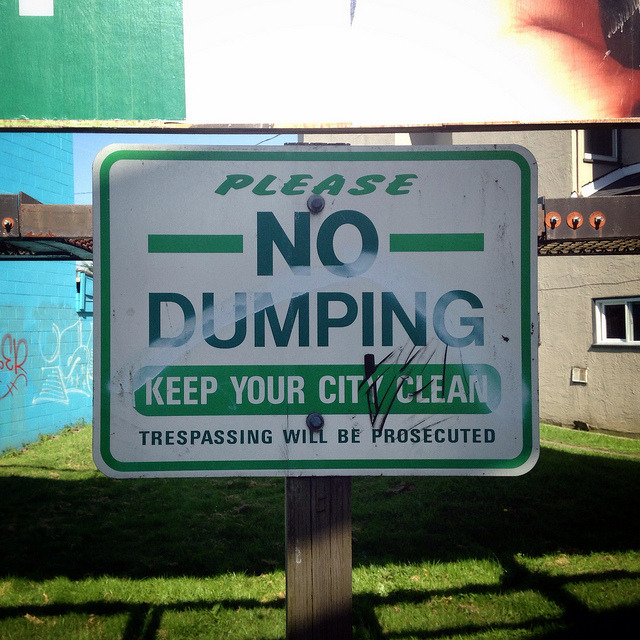 P365x52-129: Keep Your City Clean on Flickr.