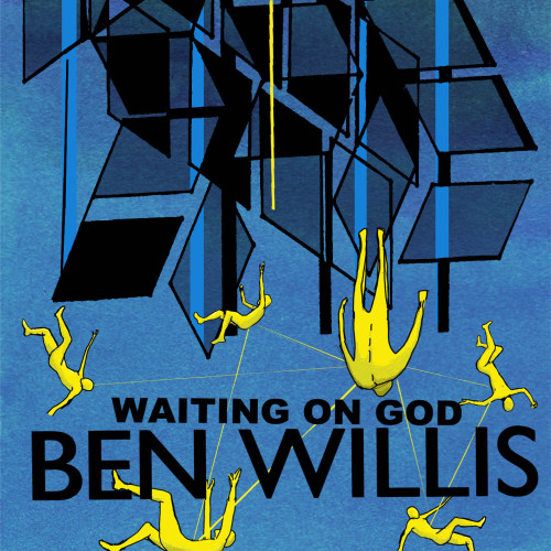iliztrated:  Artwork for Ben Willis's EP WAITING ON GOD Liz Cowley https://soundcloud.com/ben-willis