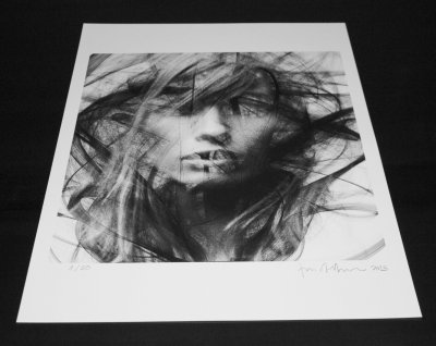 sergioalbiac:  Giclée print on archival matte paper using pigmented inks. Limited edition of 20. Numbered and signed with CoA (Collaboration with photographer Elena Kulikova). You may get it here and support my work. Thank you! www.sergioalbiac.com