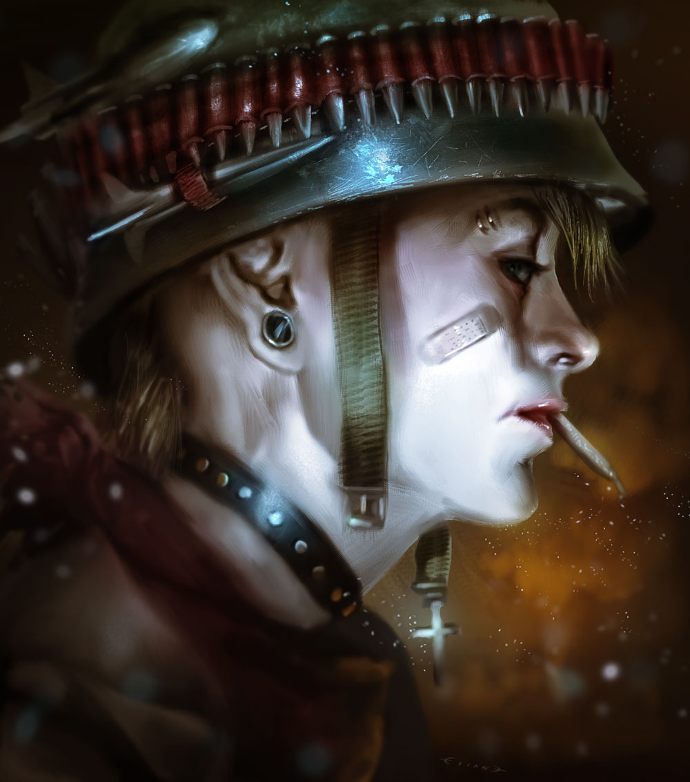xombiedirge:  Tank Girl by Elias Antonio Vazquez
