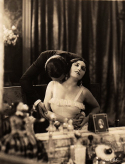 maudelynn:  Pola Negri and Nils Asther in Loves of an Actress c.1928