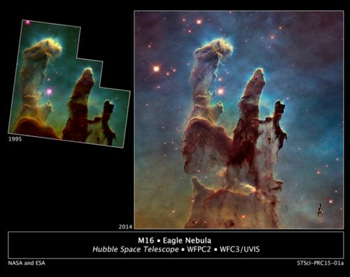 Hubble Revisits the Famous \