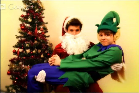 just-an0ther-daydreamer:  so charlie as an elf….enjoy!