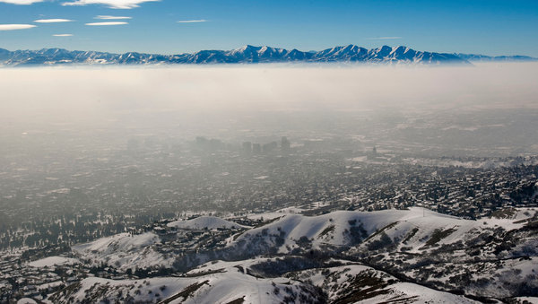 "Seen as Nature Lovers' Paradise, Utah Struggles With Air Quality (New York Times, February 23, 2013)   Salt Lake County has experienced 22 days this winter in which pollution levels exceeded federal air quality standards, compared with just one last year. … It is not that the region necessarily emits more pollution than other large metropolitan areas, or that the problem is especially new, Mr. Bird said. What makes the situation here different is the confluence of topographic and meteorological factors. … ""If the 40,000 women in Utah who are pregnant suddenly started smoking, that would constitute a genuine health emergency,"" said Dr. Brian Moench, an anesthesiologist who leads Utah Physicians for a Healthy Environment, a group that has urged Gov. Gary R. Herbert, a Republican, to declare a public health emergency. ""But our levels of air pollution are causing the exact same consequences as if all these women were smoking."" … In an interview on Thursday, Governor Herbert said the state had taken a number of steps to address the pollution: urging people to take mass transit, meeting with energy companies to develop emission reduction plans and reducing the use of state vehicles.  Governor Herbert's recommendations are a start. Investment in landscapes—both recreational and conservational—is critical to long-term mitigation of air-quality issues. Plenty of federal incentives exist, (e.g. Conservation Innovation Grants (CIG), intended to stimulate the development and adoption of innovative conservation approaches in conjunction with agricultural production) but these are miniscule in comparison with farm stimulus payments and agricultural subsidies.  For more see http://westernconservation.org/docs/recommendations.pdf"