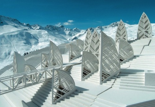 Beautiful Swiss Architecture (Tschuggen Grand Hotel) by http://www.tschuggen.ch/