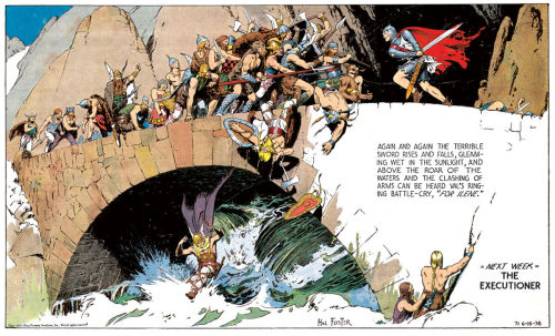 spaceshiprocket:  Hal Foster