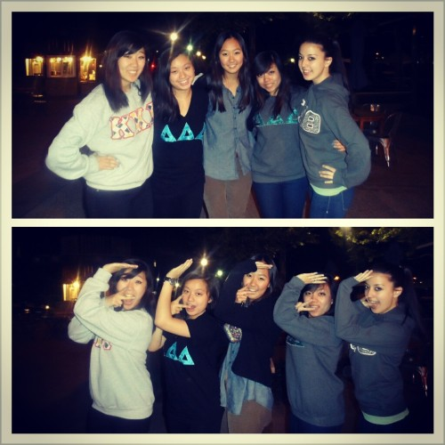 sophiannaaa:  Best rhosig group ever (: All the panhellenic love!
