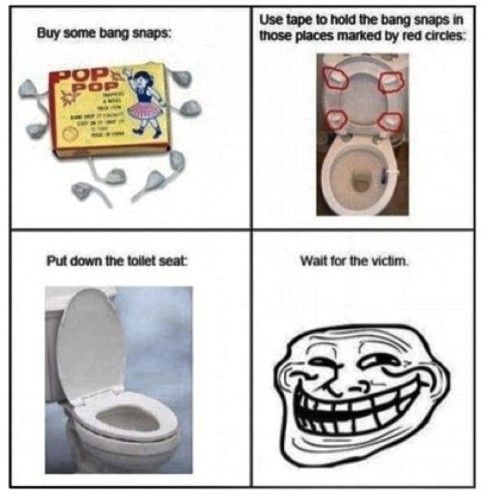 Lmfao!! 🏃💨💥💥🚽this would be something to catch on camera. 😂