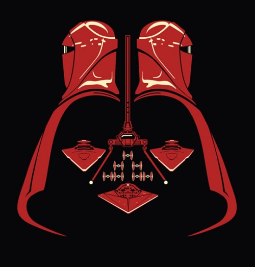 Original arte de la máscara de Darth Vader