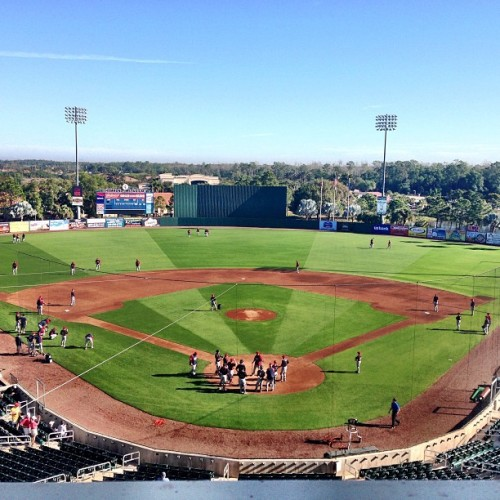 Hammond Stadium (via rhettbollinger on Instagram)