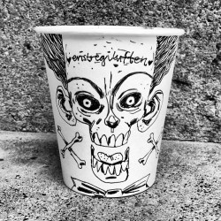 #coffee #cup #drawing #enstregiluften