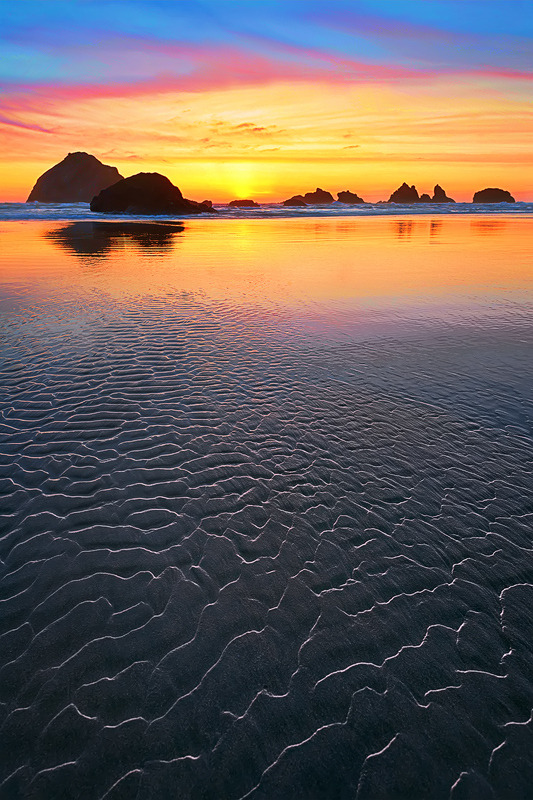 Bandon Sunset, By Cody Wilson.