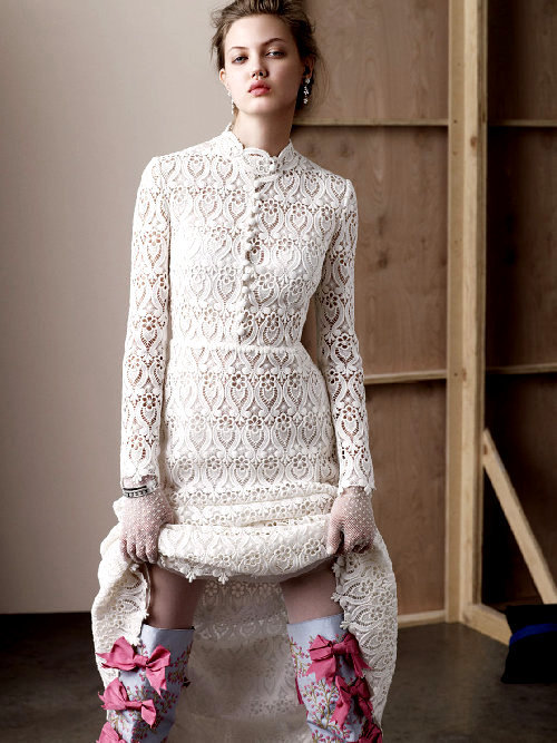 she-loves-fashion:  SHE LOVES FASHION: Lindsey Wixson by Paul Wetherell for Document Journal S/S 2013