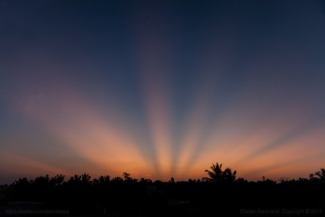 Strobe lights, Hubli (by sandeepachetan)