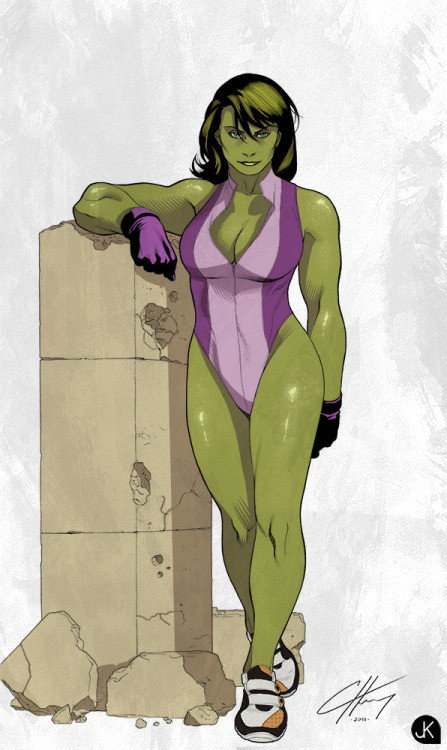 She-Hulk by *Kopuli