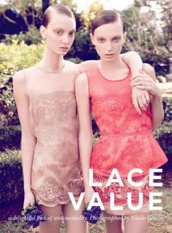 Rosemary Smith & Cody Young for Vogue Australia October 2010 The dresses are stunning!! Source: GLAMCHECK