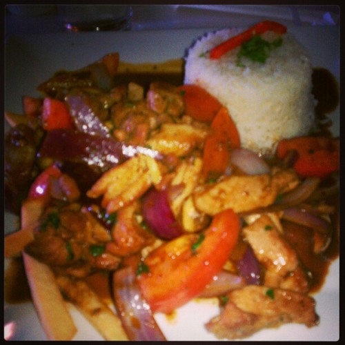 Peruvian lunch :)