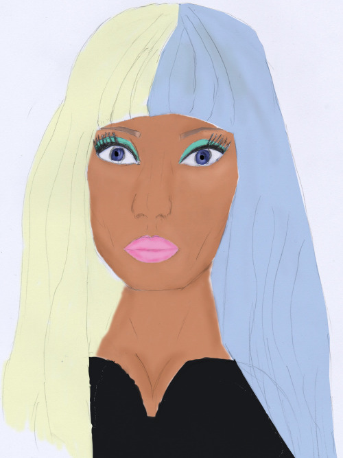 my draw of nicki minaj