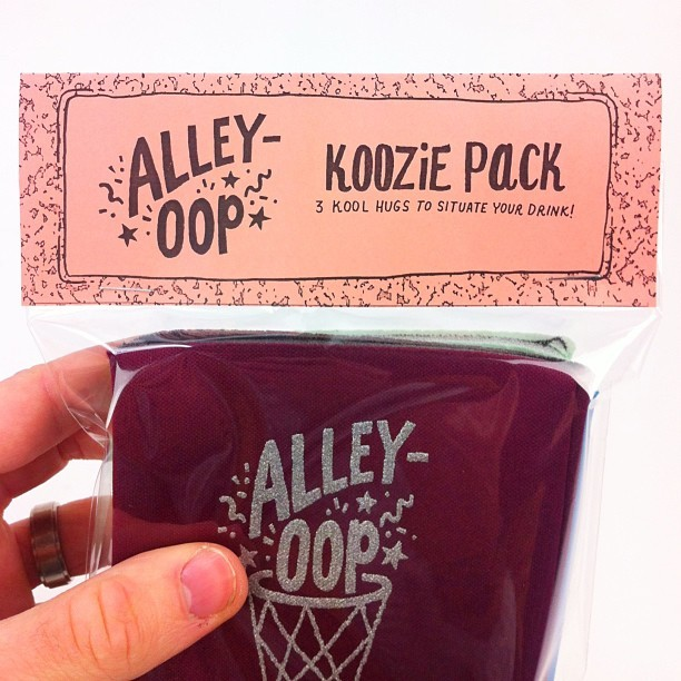 willbryantplz: The Koozie Pack - 3 kool hugs to situate your drank!