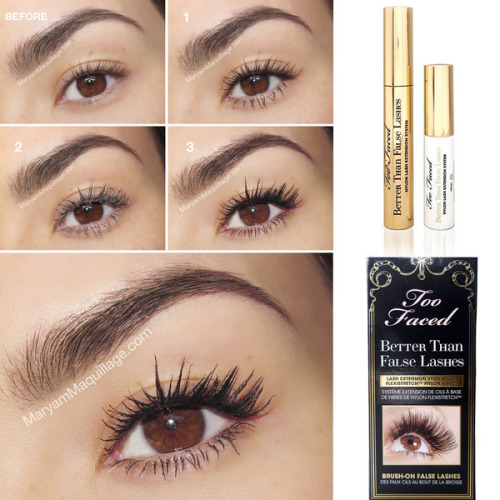 Have you tried Too Faced's Better Than False Lashes? Maryam M. shows you how it's done!