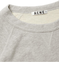 theclassyissue:  ACNE college sweater