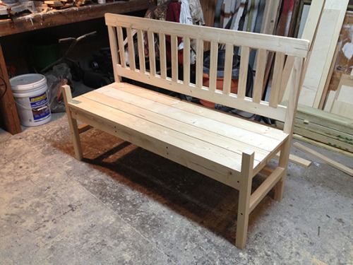 Spent today on this bench. Tomorrow it will be armed.