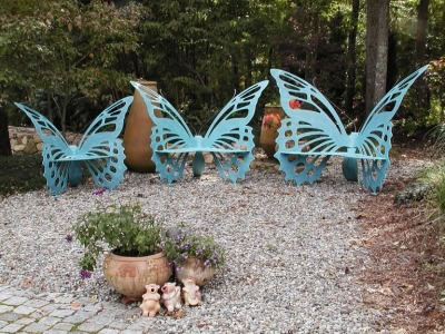 ak47:  Butterfly Bench by Vega Metals Inc.
