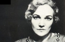 Literary Birthday - 15 May Happy Birthday, Katherine Anne Porter, born 15 May 1890, died 18 September 1980 Quotes If I didn't know the ending of a story, I wouldn't begin. I always write my last lines, my last paragraph, my last page first, and then I go back and work towards it. I know where I'm going. I know what my goal is. I love the purity of language. I keep cautioning my students and anyone who will listen to me not to use the jargon of trades, not to use scientific language, because they're going to be out of date the day after tomorrow.  I have not much interest in anyone's personal history after the tenth year, not even my own. Whatever one was going to be was all prepared before that. Most people won't realize that writing is a craft. You have to take your apprenticeship in it like anything else. The real sin against life is to abuse and destroy beauty, even one's own even more, one's own, for that has been put in our care and we are responsible for its well-being. I prefer to get up very early in the morning and work. I don't want to speak to anybody or see anybody. Perfect silence. I work until the vein is out. There's something about the way you feel, you know when the well is dry, that you'll have to wait till tomorrow and it'll be full up again. I think it's something in the blood. We've always had great letter writers, readers, great storytellers in our family. I've listened all my life to articulate people. They were all great storytellers, and every story had shape and meaning and point. Human life itself may be almost pure chaos, but the work of the artist is to take these handfuls of confusion and disparate things, things that seem to be irreconcilable, and put them together in a frame to give them some kind of shape and meaning.  You have to speak clearly and simply and purely in a language that a six-year-old child can understand; and yet have the meanings and the overtones of language, and the implications, that appeal to the highest intelligence.  You do not create a style. You work, and develop yourself; your style is an emanation from your own being.  Porter was a Pulitzer Prize-winning American journalist, essayist, short story writer, and novelist. Her 1962 novel Ship of Fools was a best-seller but she received critical acclaim for her short stories.  Source for Image by Amanda Patterson for Writers Write