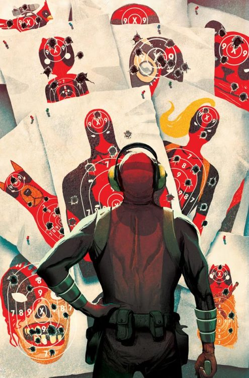 cullenbunn:  Cover to DEADPOOL KILLS DEADPOOL #1 - Details HERE!