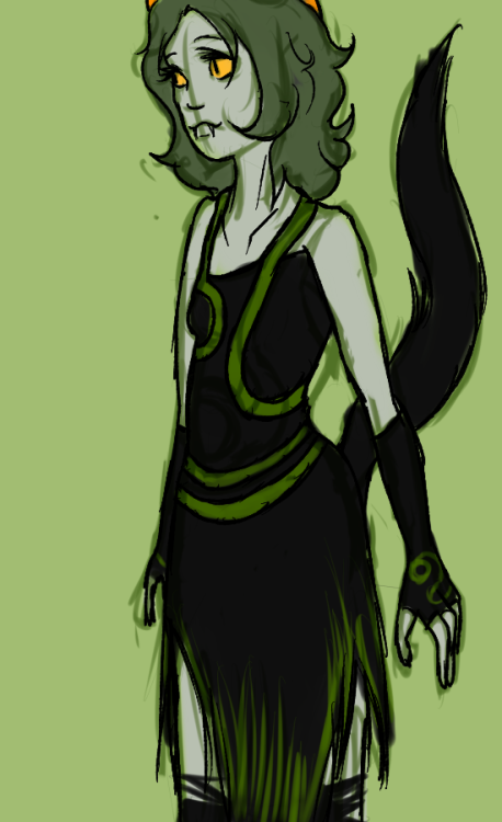pawfulmess:  wessasaurus-rex:  limecreamtangerine:  ok but what if nepeta liked to roleplay as the disciple  accepted!   IM GONNA DO THIS OK