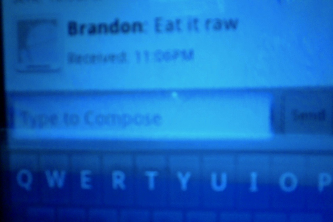 cokeflow:  tupacabra:  brandon tryna sext right now but i'm his brother idk what he wants from me  bitch you said you didn't feel like waiting for the pizza to be ready don't even play