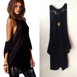 We've been so excited to finally release The MoonCult Cover Up! Throw it on over a bikini or tuck in with some high waisted shorts🌙 Hand stitched moon on the back. $35 (check out previous posts for discounts!) (at moonshineapparel.bigcartel.com)
