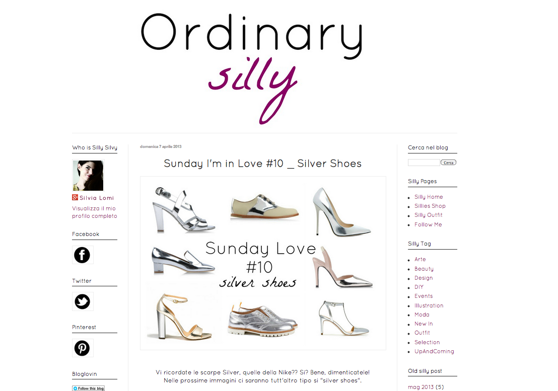http://ordinarysilly.blogspot.it/2013/04/sunday-im-in-love-10-silver-shoes.html