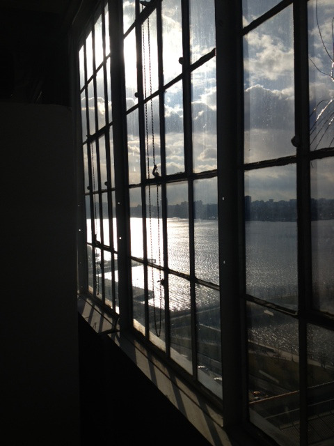 calvinklein:  The view from Canoe Studios, NYC.