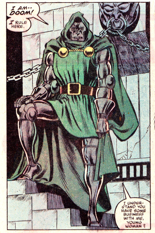 jthenr-comics-vault:  Doctor Doom by Dave Cockrum