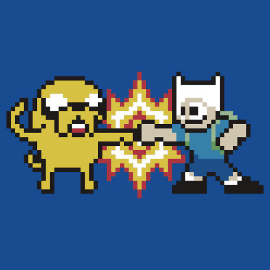 it8bit:  8-Bit Time! Created by D4N13L Shirts and stickers available at RedBubble