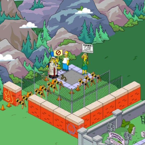 Honk if you love cookies. #tappedout #thesimpsons #simpsons #ilikethis