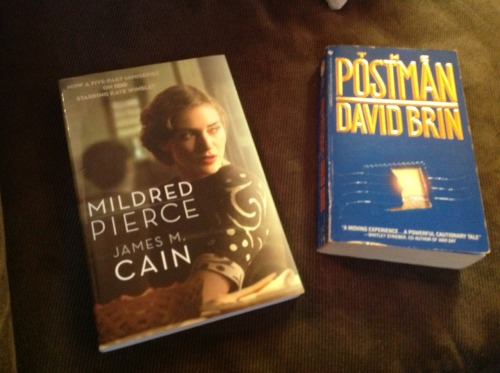 Apparently I like authors who write about Postmen.