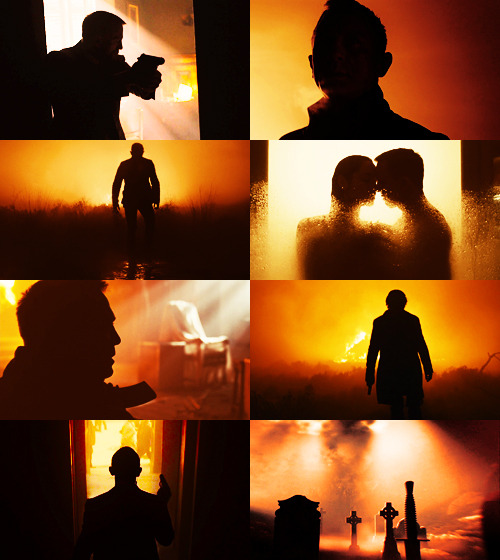dragonfiretwistedwire:  Screencap Meme → Skyfall + Silhouettes (for Becky)