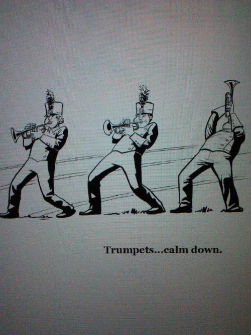 "the13thchair:  From ""The Marching Band Nerds Handbook""www.the13thchair.com"