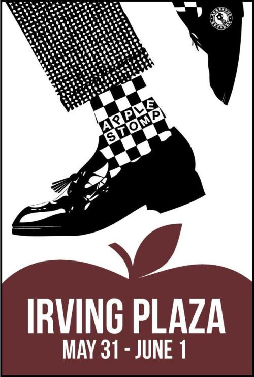 asbestosrecords:  Don't miss the first annual NYC APPLE STOMP at Irving Plaza! We've teamed up with Irving Plaza to bring a SKA FEST to the Northeast!FIRST ANNOUNCED BAND:THUMPER (reunion - MA Grandfathers of Skacore) MANY MORE BANDS WILL BE ANNOUNCED. Do not miss out! Like our page to keep up with other band announcements and ticket info.  https://www.facebook.com/AppleStompNYC