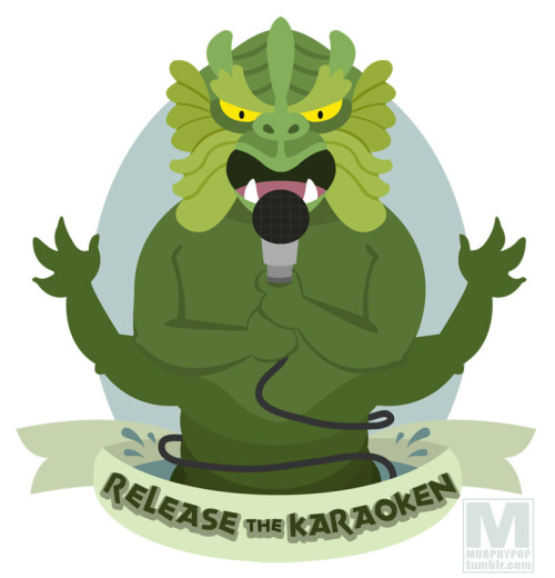 Release the Karaoken! From an awesome idea by @NordlingAICN.