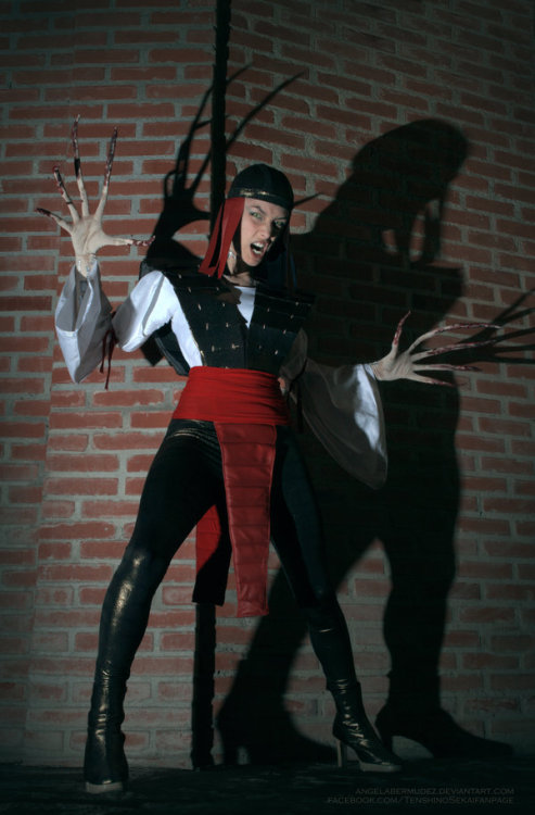 Cosplay do Dia. Lady Deathstrike.