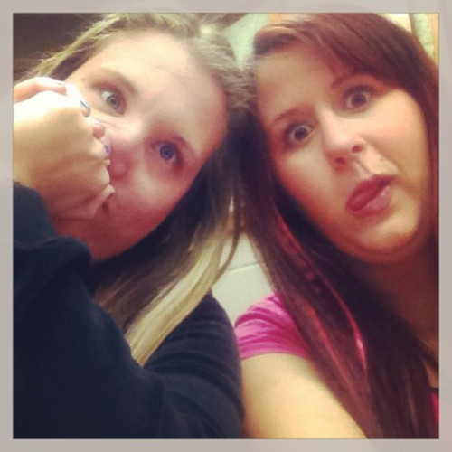 Just a little bored during class #bored #bccc #college #bff #