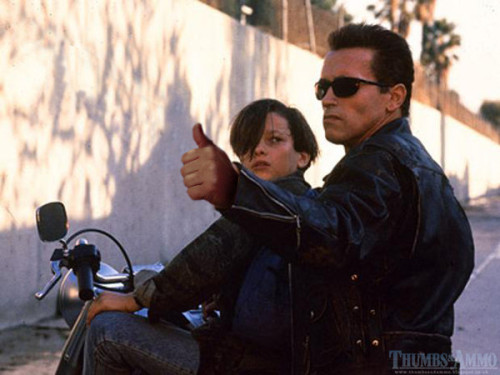 funnyordie:  11 Classic Movie Scenes with Thumbs Up Instead of Guns The premise is simple. The execution is flawless. Check out the entire Thumbs and Ammo blog for more!