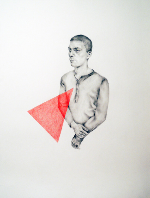 ok II, 2013 pencil on paper (65x50 cm)