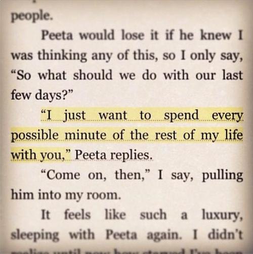 junetwentythirdgirl:  Nobody compares with you Peeta.